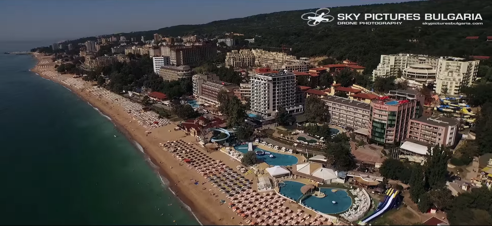 DRONE VIDEO: Bulgaria, The Amazing Country on The Black Sea