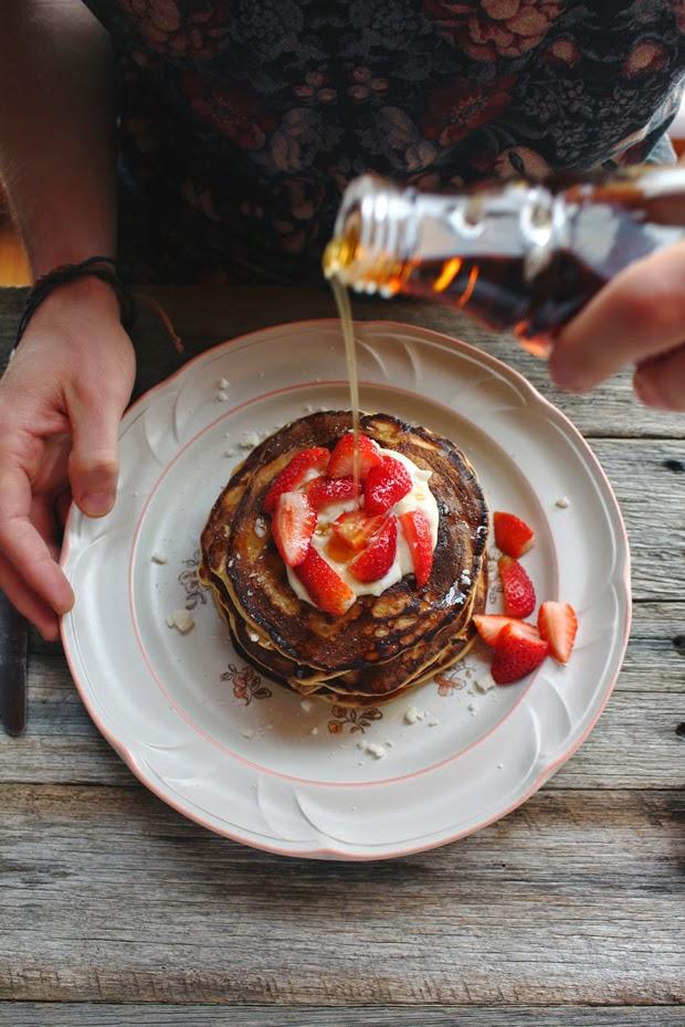 low fodmap, fructose free pancakes