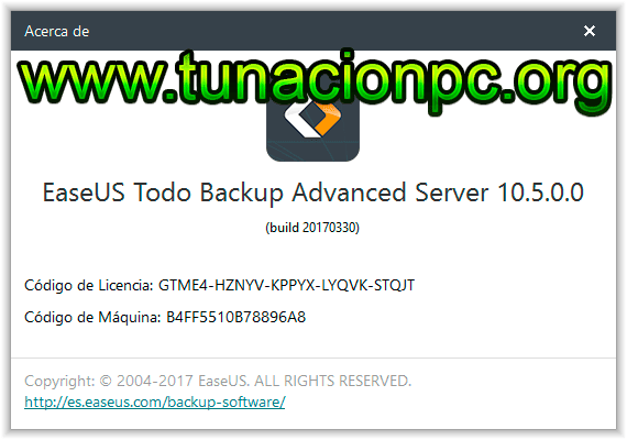 Download free EaseUS Todo Backup Server for windows 7 64bit