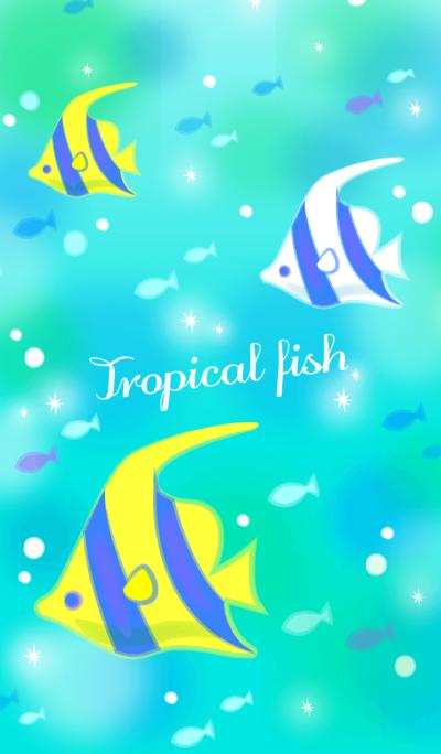 Tropical fish.