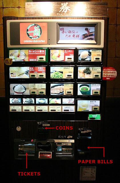 How to Order Ichiran Machine