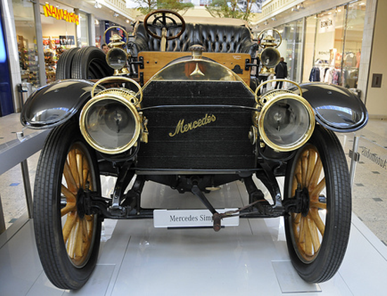 Mercedes 35 PS - Front