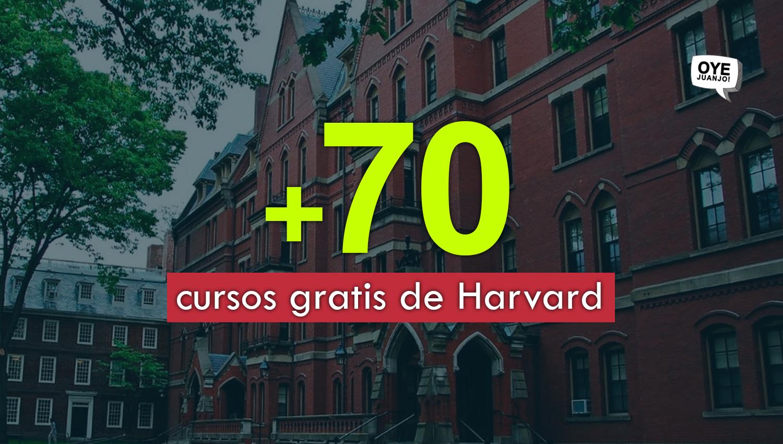75 Cursos Gratis Certificados Por Harvard Que Puedes Empezar Ahora