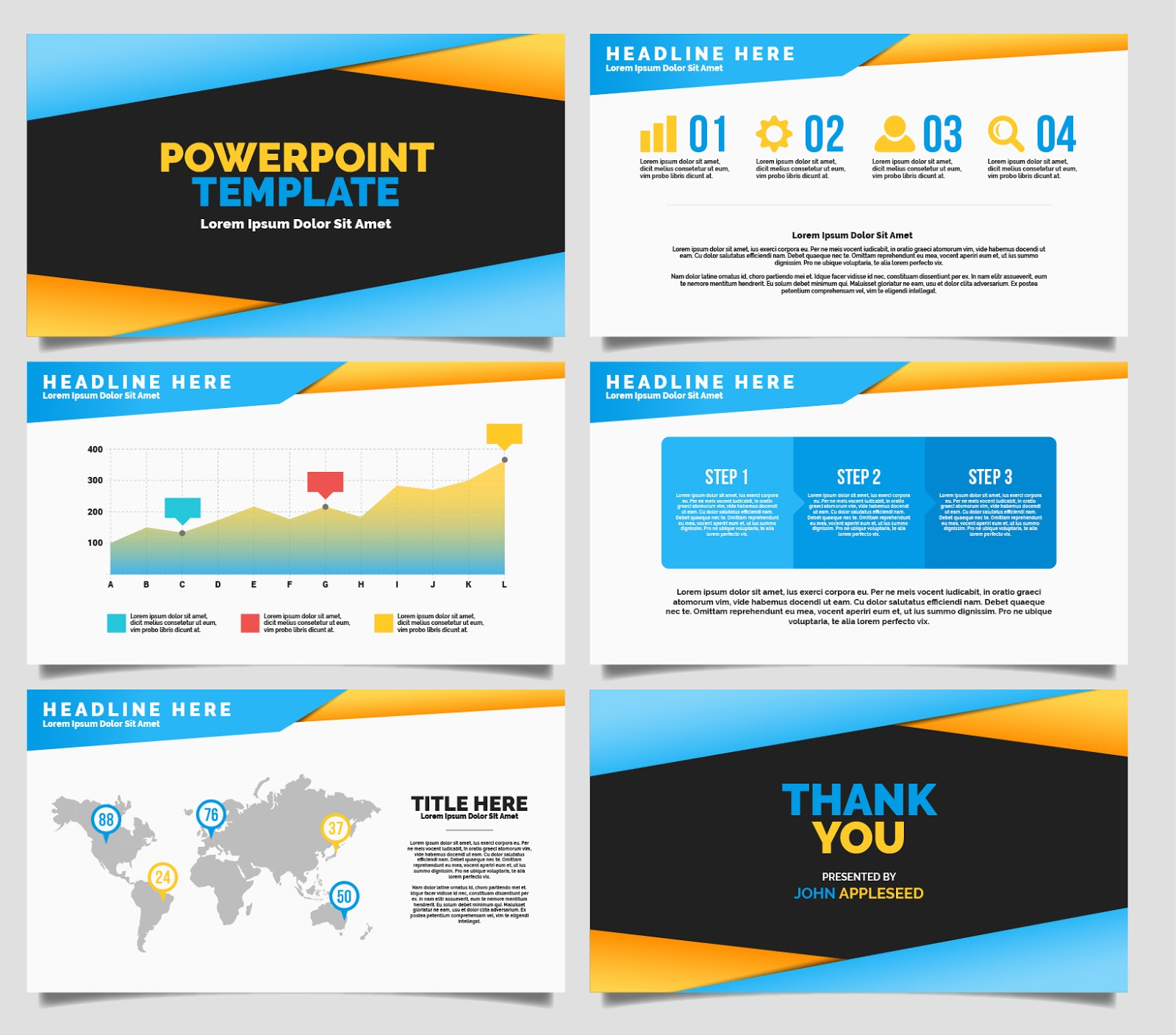 template powerpoint keren gallery - templates example free download, Powerpoint templates