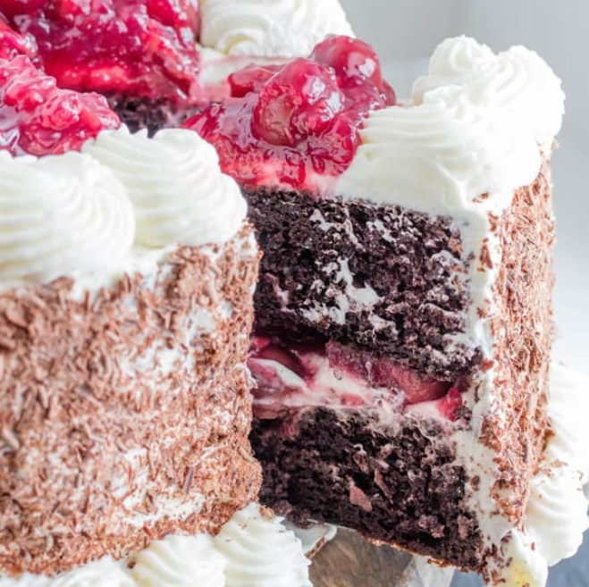 Black Forest Cake #chocolate #dessert