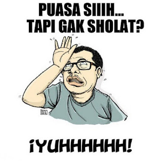 Foto lucu dan Gambar lucu DP BBM dan Meme Terbaru Jomblo Buka puasa komik indonesia ramadhan