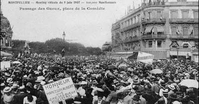 Blog vin Beaux-Vins région viticole Languedoc-Roussillon histoire Manifestion 1907