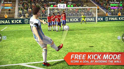 Final kick: Online football v7.5.5 Mod APK2