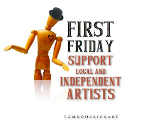 First Friday support independent artist