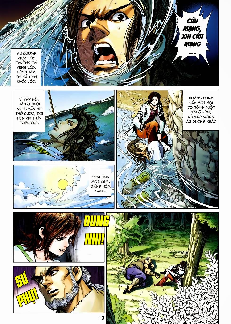 Anh Hùng Xạ Điêu anh hùng xạ đêu chap 54: kiếp hậu dư sinh thiến nữ kỳ mưu trang 19