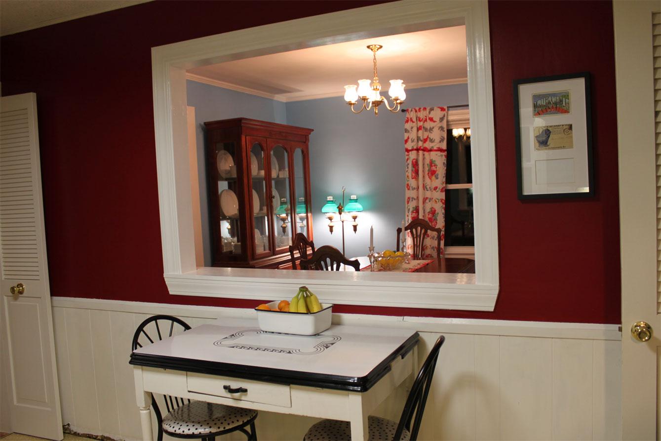 Kitchen Dining Room Pass Through Window