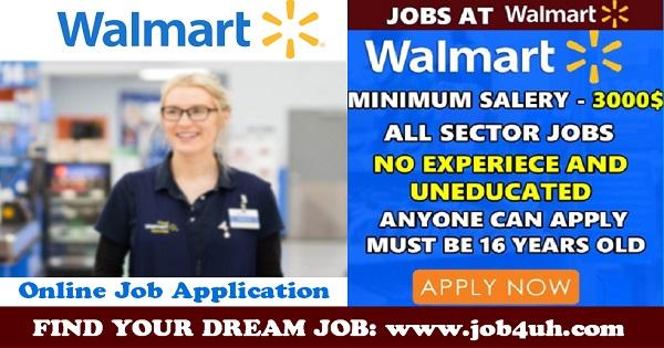 Walmart Job Openings Canada 2018 Apply Now