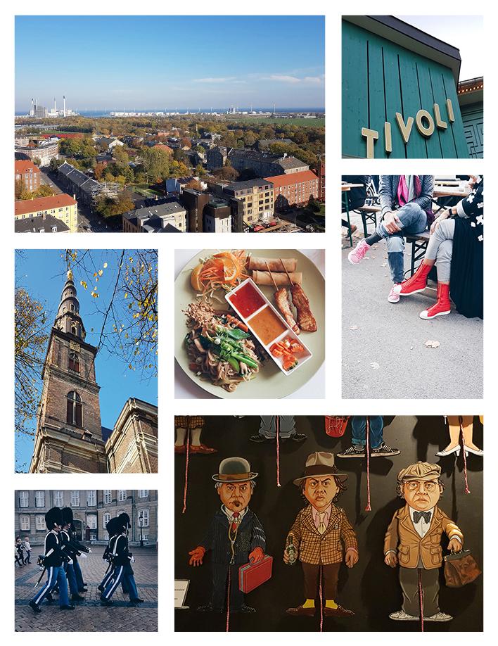 Photo Collage | Crate Paper | Journal Studio | Traveling to Copenhagen