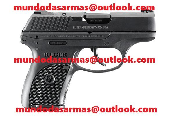Pistola Ruger 9mm