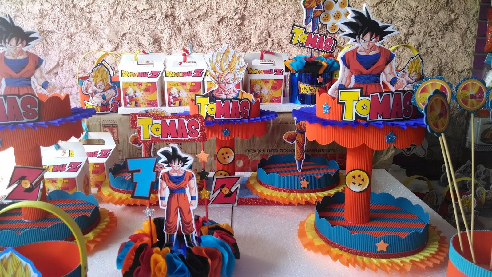 Decoraciones infantiles dragon ball z for Cuartos decorados de dragon ball z