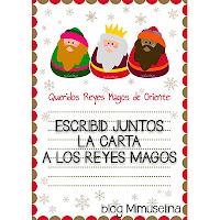 blog mimuselina carta reyes magos