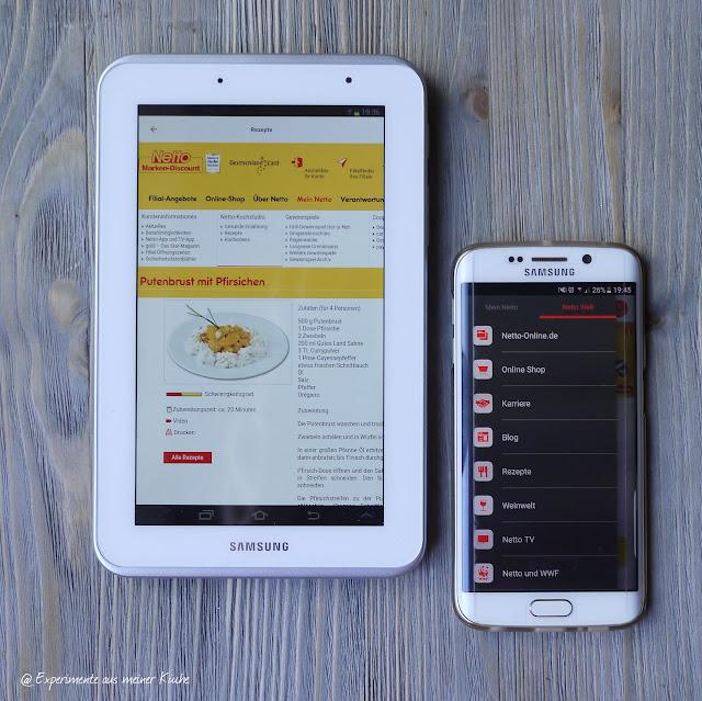 Experimente aus meiner Küche: Netto-App