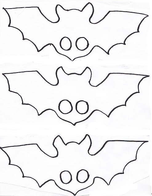 bat puppet printable template story puppets shadows and theatre 3426
