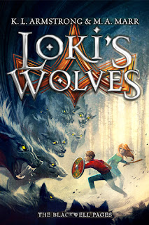 Book Review:  Loki's Wolves by K.L. Armstrong & M.A. Marr