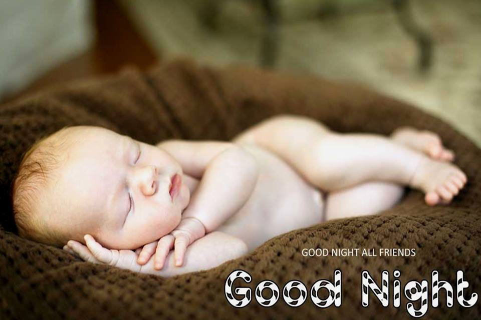 Good Night Baby Images for Friends