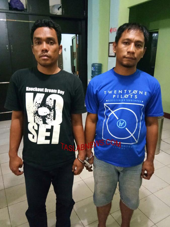 Dua oknum polisi ditangkap