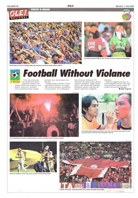 FOOTBALL WITHOUT VIOLANCE