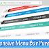 Cara Membuat Menu Bar Responsive di Blog Tanpa Edit Html Pure CSS