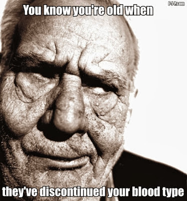 Funny old age quotes picture