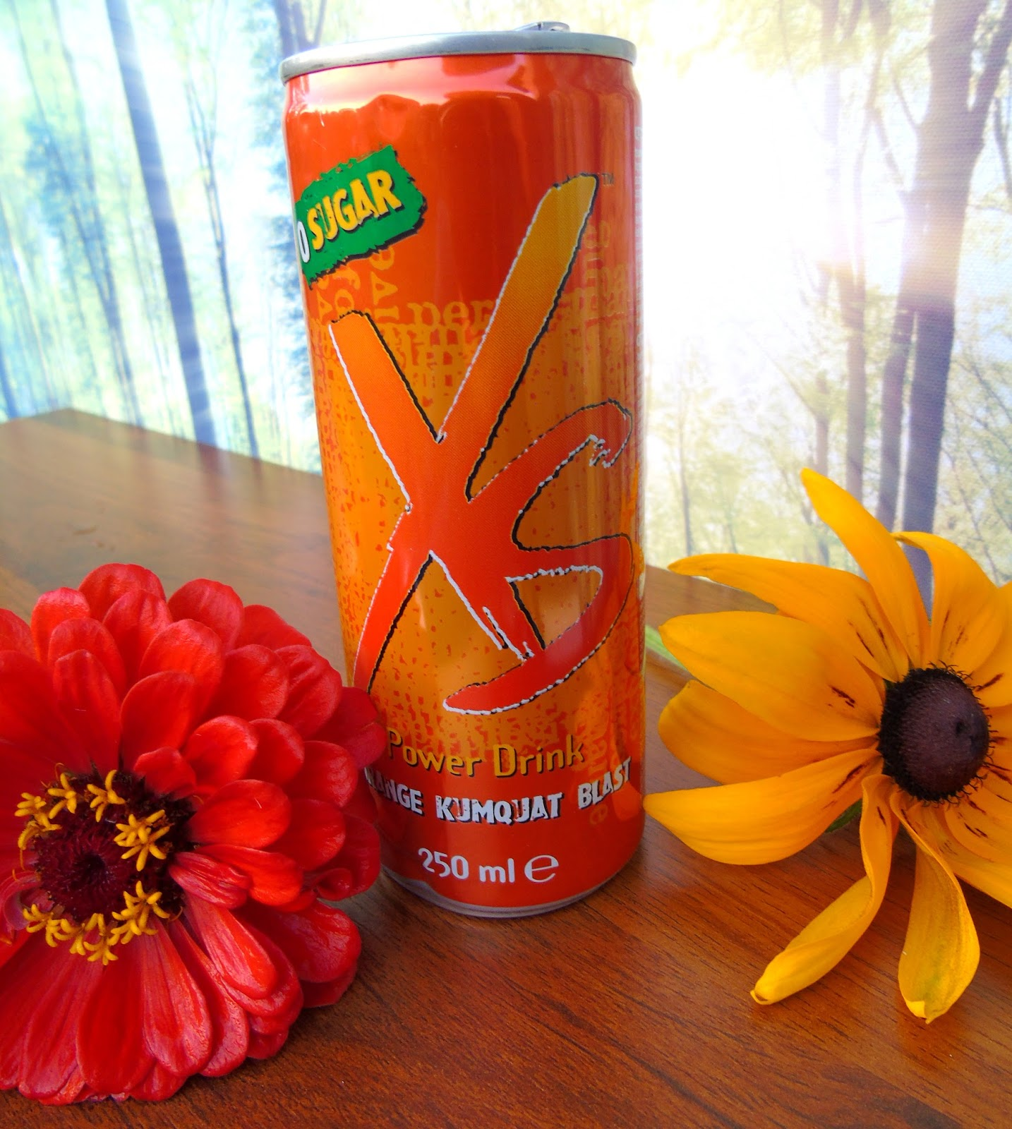 Orange Kumquat Blast XS - Duża dawka energii bez dodatku cukru!