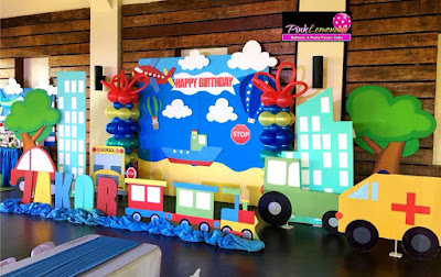 Transportation Themed Stage Decoration
