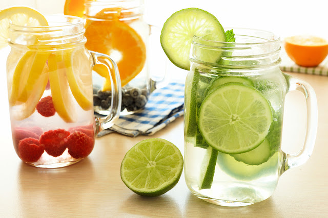 Water to help you to flush out toxins
