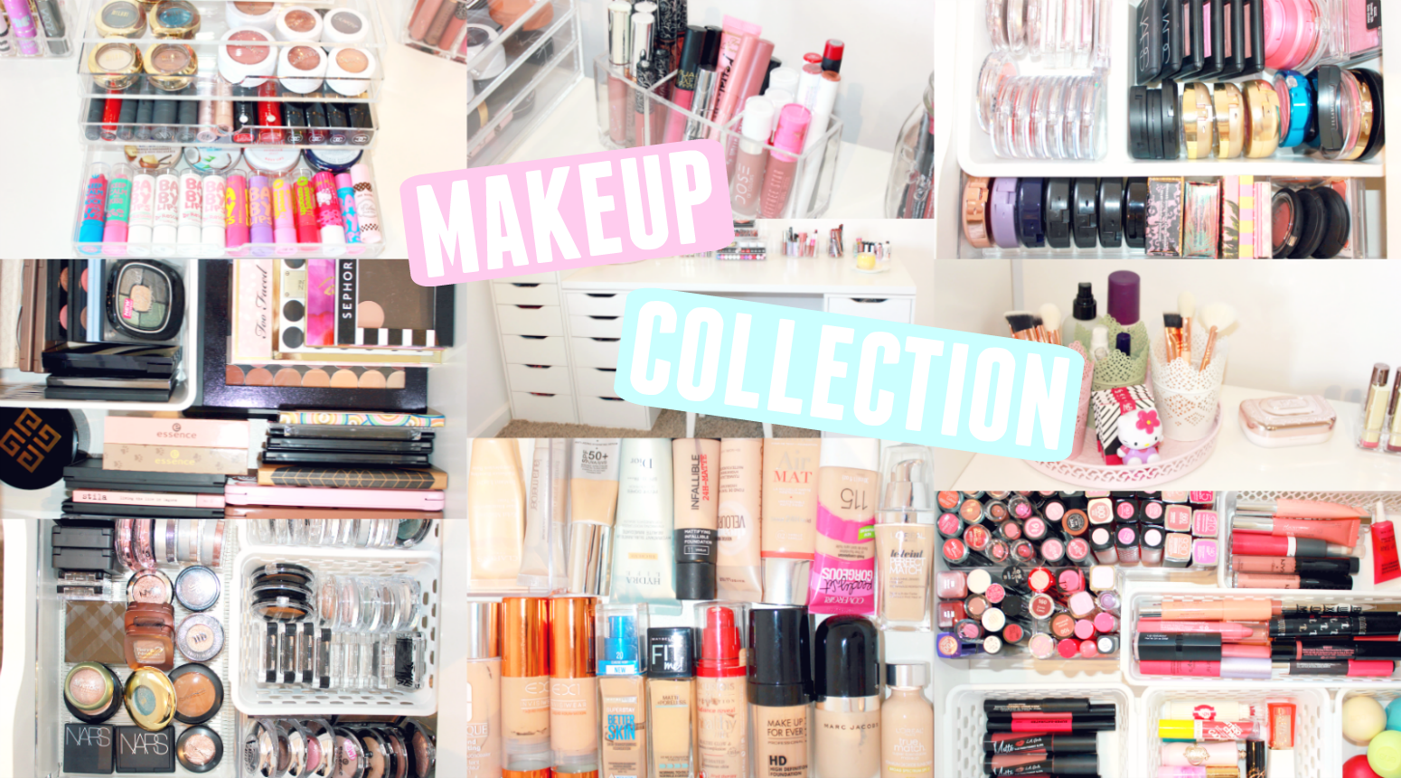 Beauty Room Tour & Makeup Collection  Eline Blaise