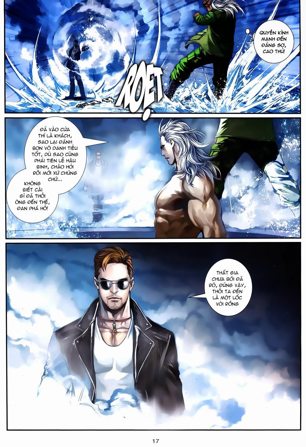 Quyền Đạo chapter 10 trang 16