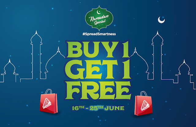 BrandFactory Ramadan offers - Buy one get one | June 2017 discounts and benefits