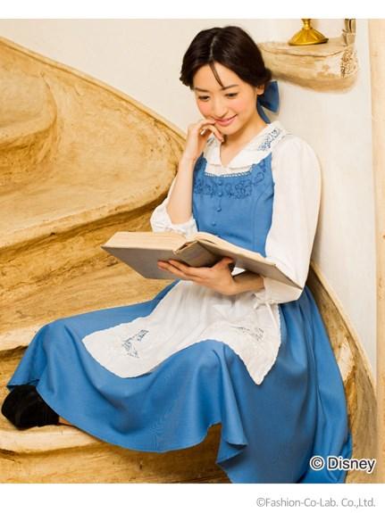 Bella vestido azul disney