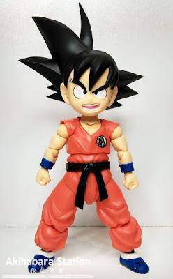 S.H.Figuarts Son Goku Niño de Dragon Ball - Tamashii Nations