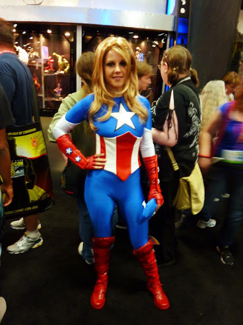 The Blonder, Sexier Captain America