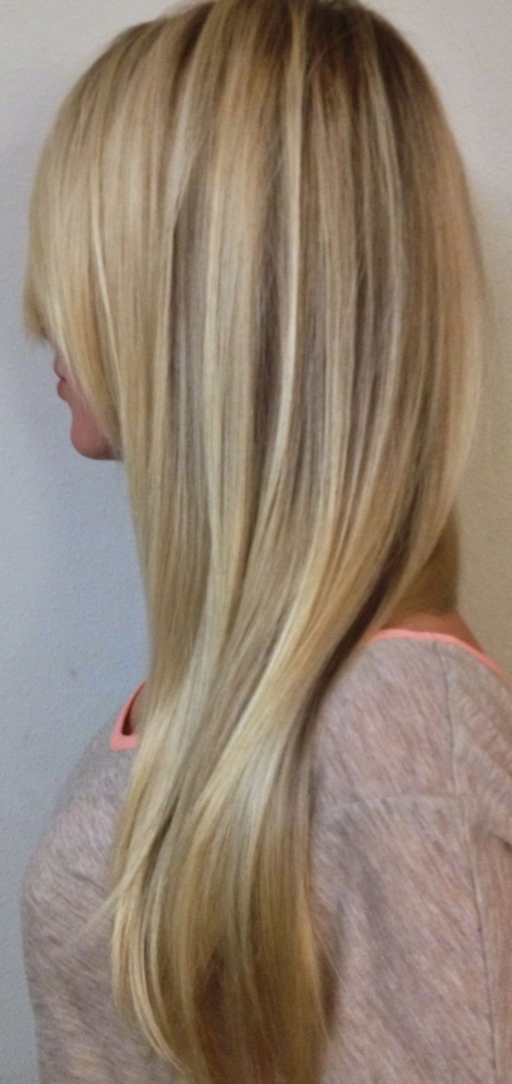 Platinum Blonde Hair With Highlights