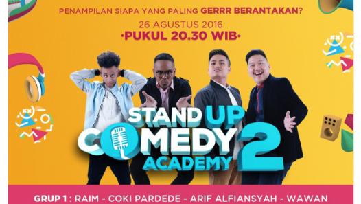 Peserta Stand Up Comedy Academy 2 yang Gantung Mik Tgl 26 Agustus 2016