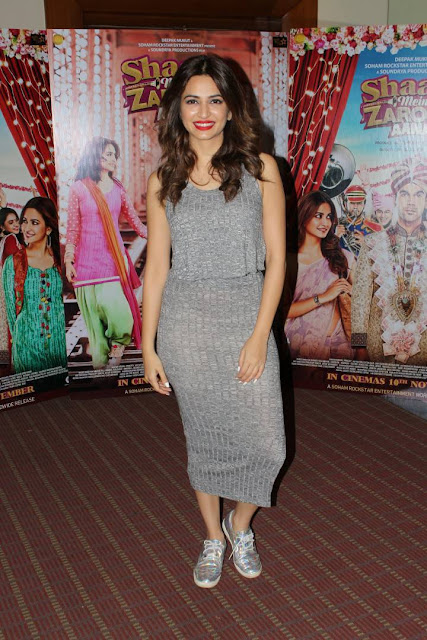 Kriti Kharbanda Stills At Shaadi Mein Zaroor Aana Interview