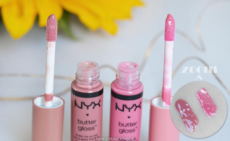 nyx butter gloss tiramisu vanilla cream pie lip gloss