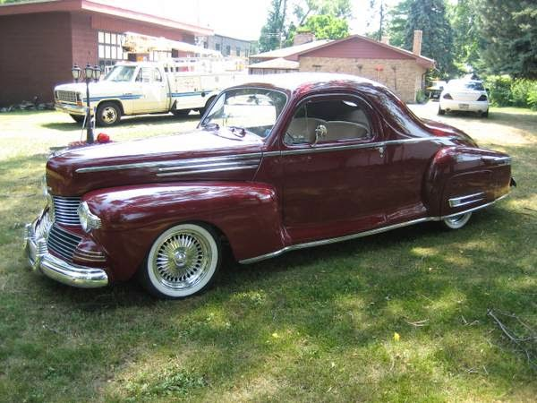 Extremely Rare 1942 Lincoln Zephyr Coupe Auto Restorationice