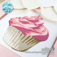 Stampin Up Mitosu Crafts Sweet Cupcake Order Stampinup UK Online Shop 5