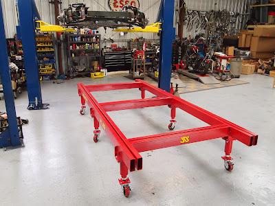 South Bay Street Machines: Frame jig | 400 x 300 jpeg 54kB