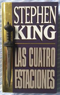 Portada del libro Las cuatro estaciones, de Stephen King