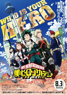 "Nuevo teaser de la película ""My Hero Academia The Movie: The Two Heroes"""