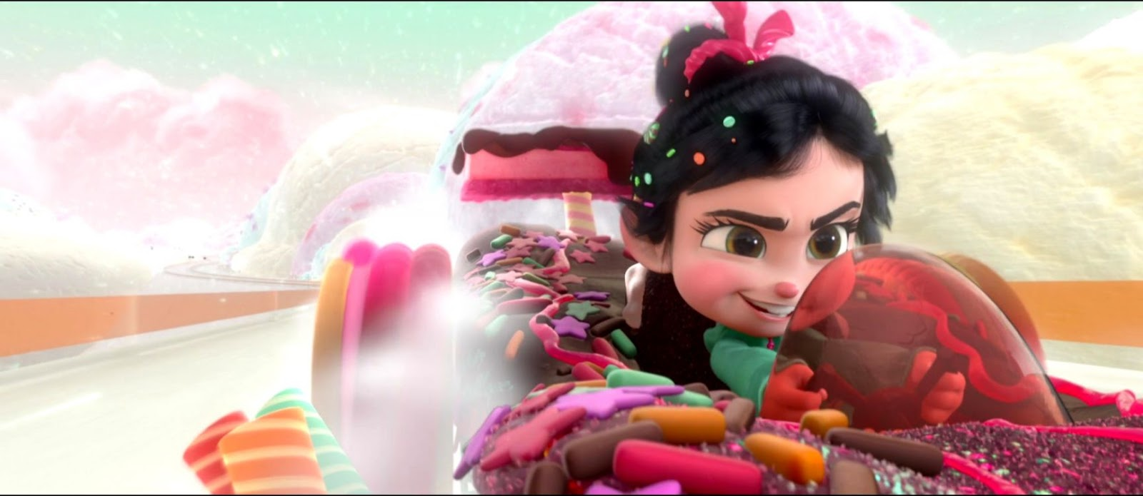 Ralph And Vanellope Wreck It Ralph Wallpapers Link Wallpapers