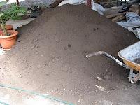 pile of black topsoil