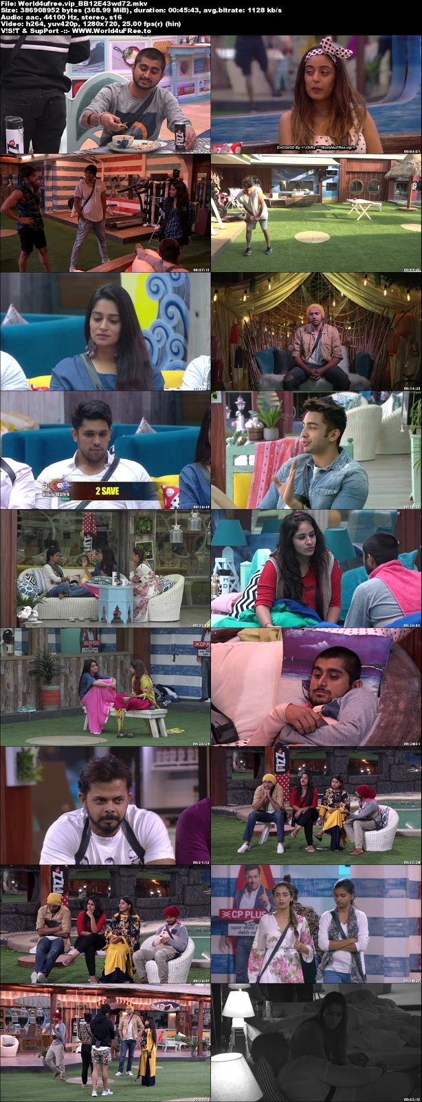 Bigg Boss 12 Episode 43 29 October 2018 720p WEBRip 350Mb x264 world4ufree.vip tv show Episode 40 26 October 2018 world4ufree.vip 300mb 250mb 300mb compressed small size free download or watch online at world4ufree.vip