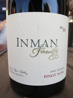 Inman Family OGV Estate Pinot Noir 2013 (92 pts)